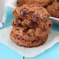 Flourless Vegan Gluten-Free Peanut Butter Cookies