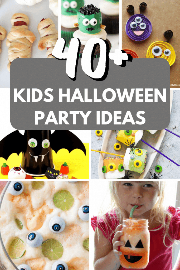 Kids Halloween Party Ideas