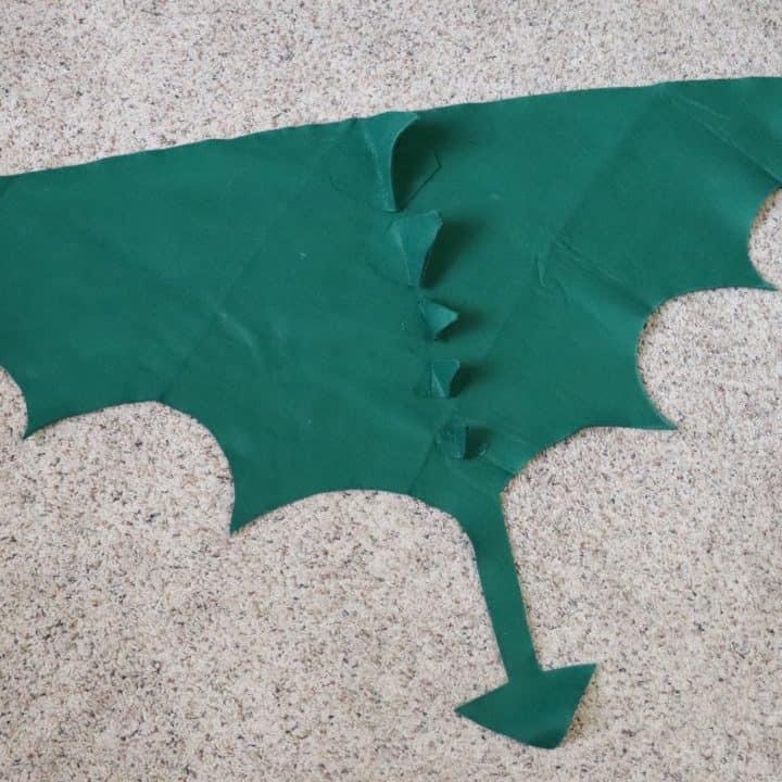 Dragon costume for kids