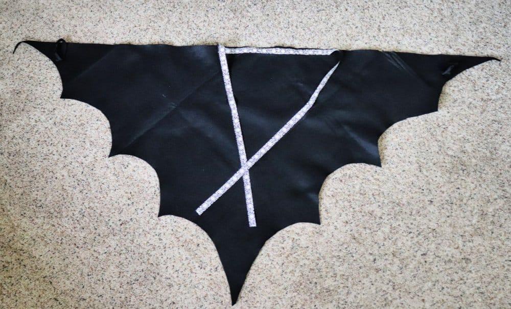 felt bat costume