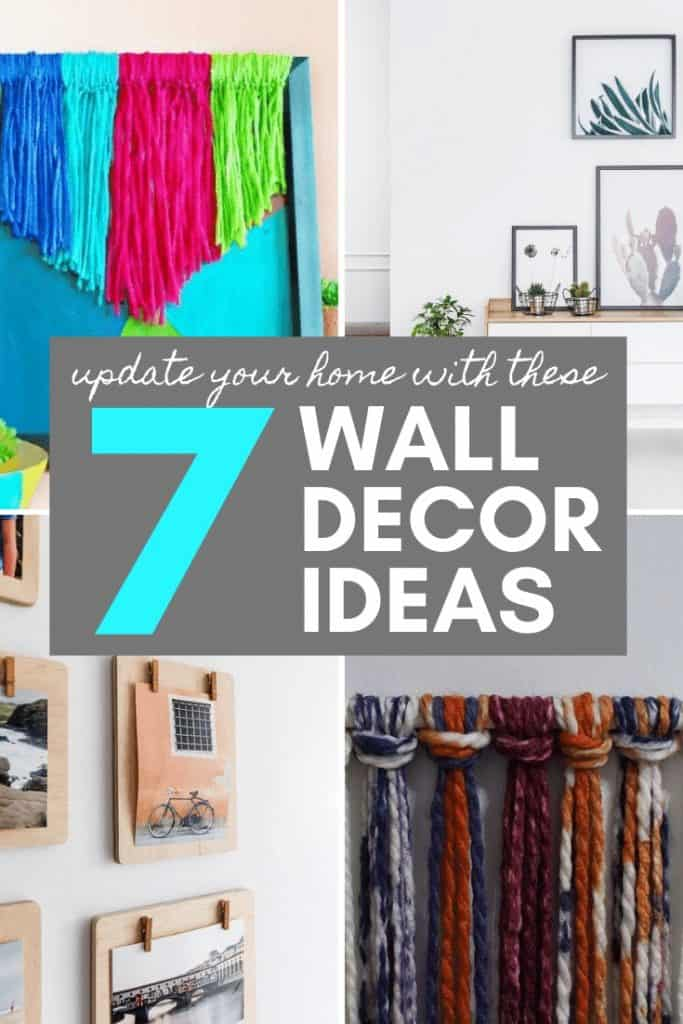 7 wall decor ideas