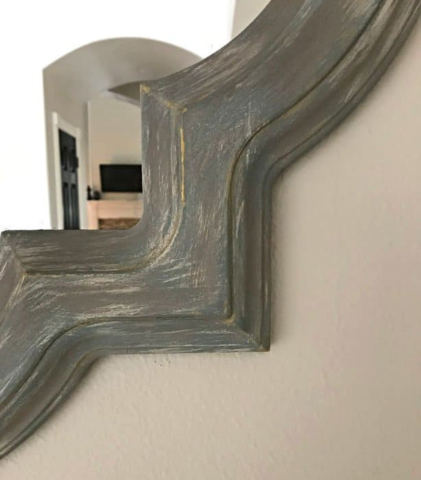 DIY Weathered Paint Effect with Chalk Paint