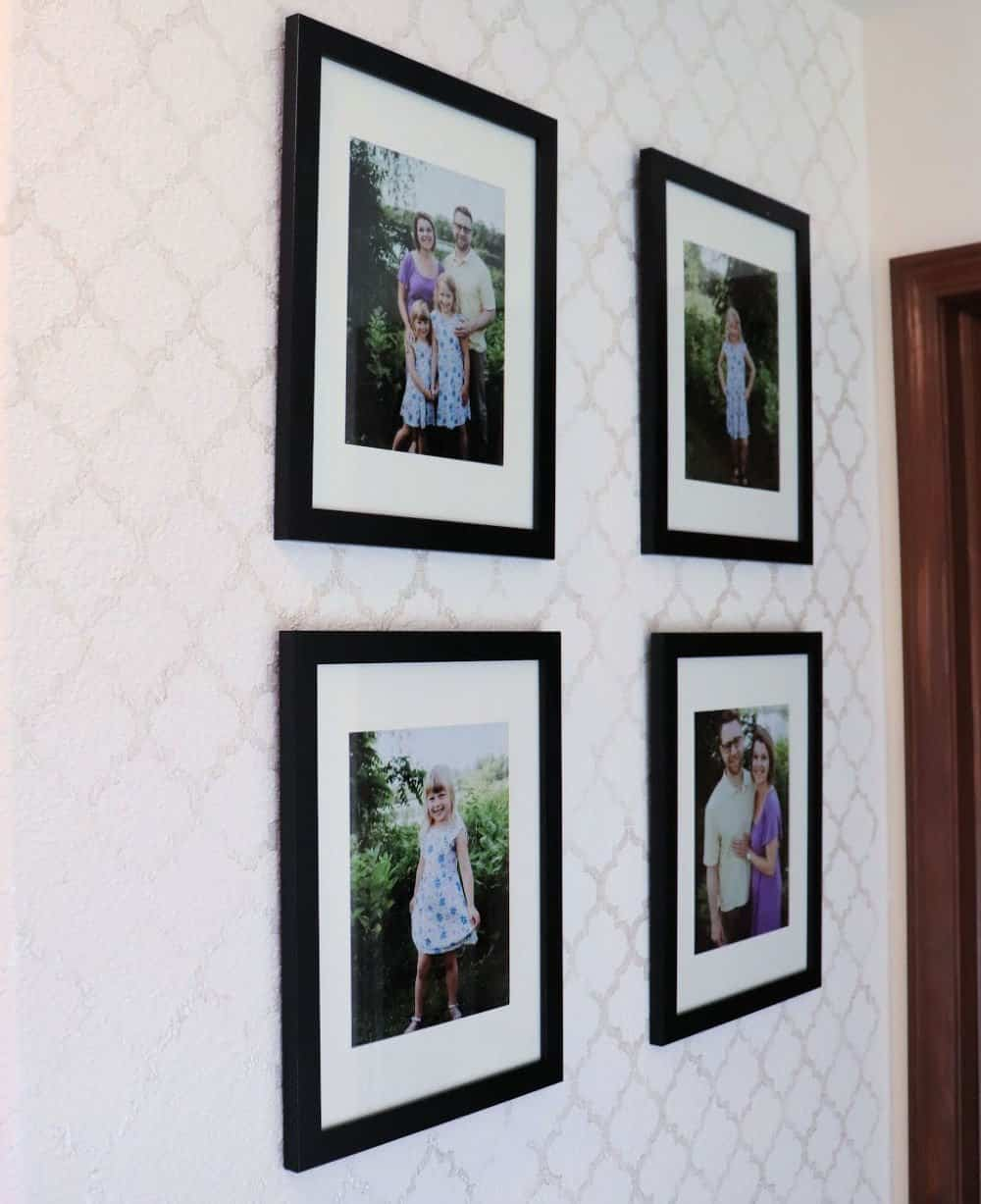 How to Stencil a Textured Wall