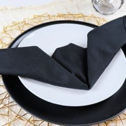 learn how to fold a bat napkin for halloween