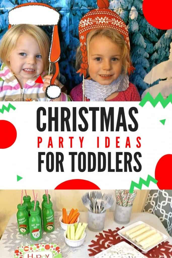 toddler christmas party ideas