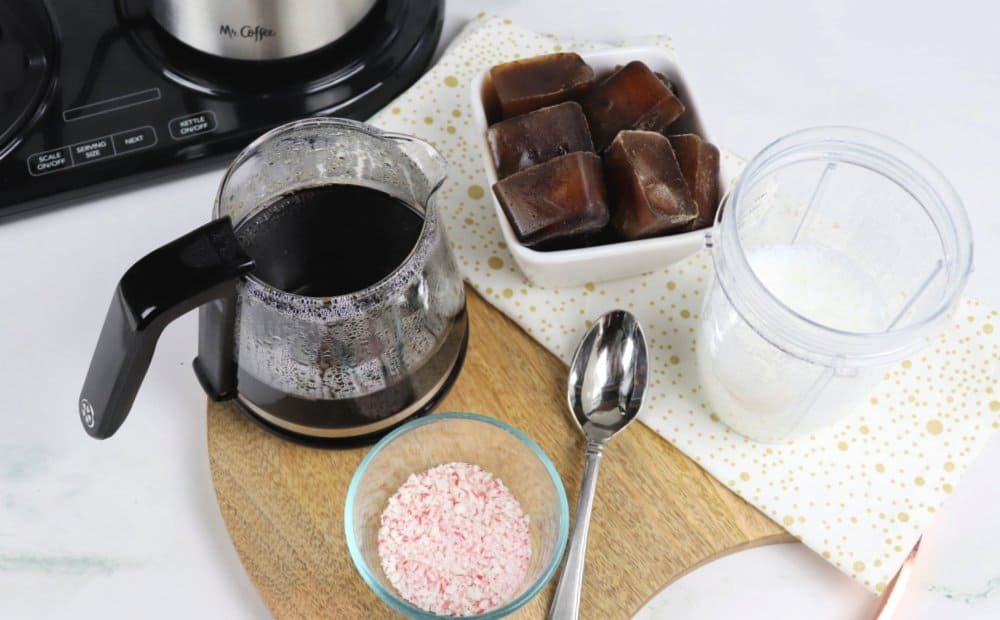 Pour Over Peppermint Coffee with Cold Foam recipe 1