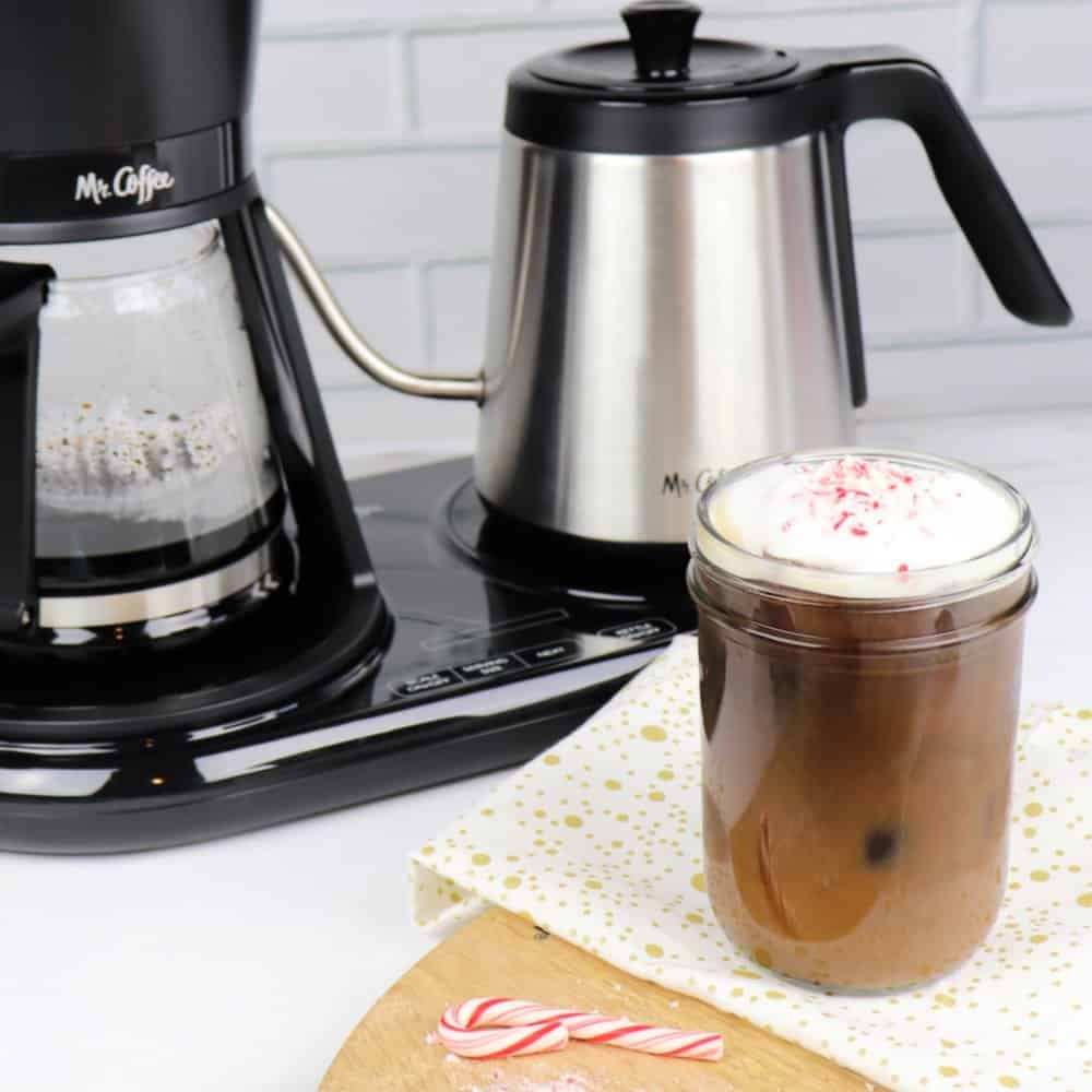 Pour Over Peppermint Coffee with Cold Foam recipe 5 (2)