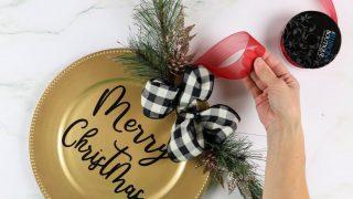 Dollar Tree Christmas Door Hanger