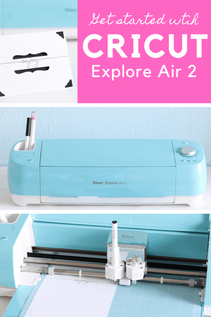 Get started with Cricut Explore Air 2