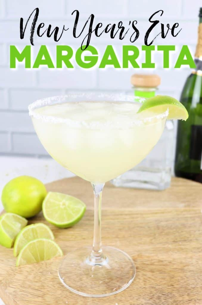 New Year's Eve Champagne Margarita