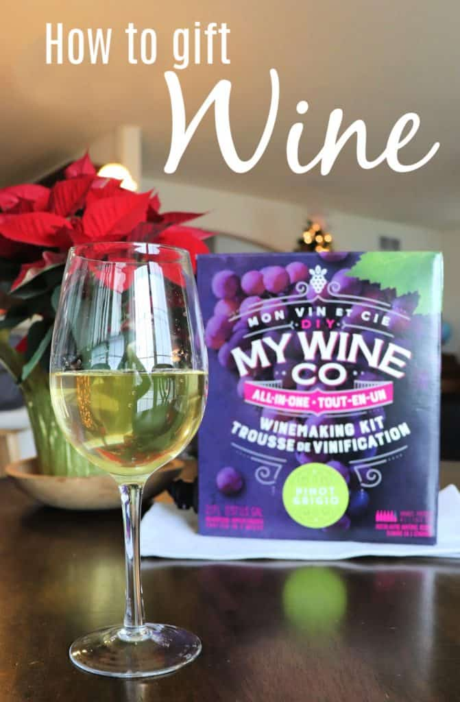 how to gift wine with DIY My Wine Co