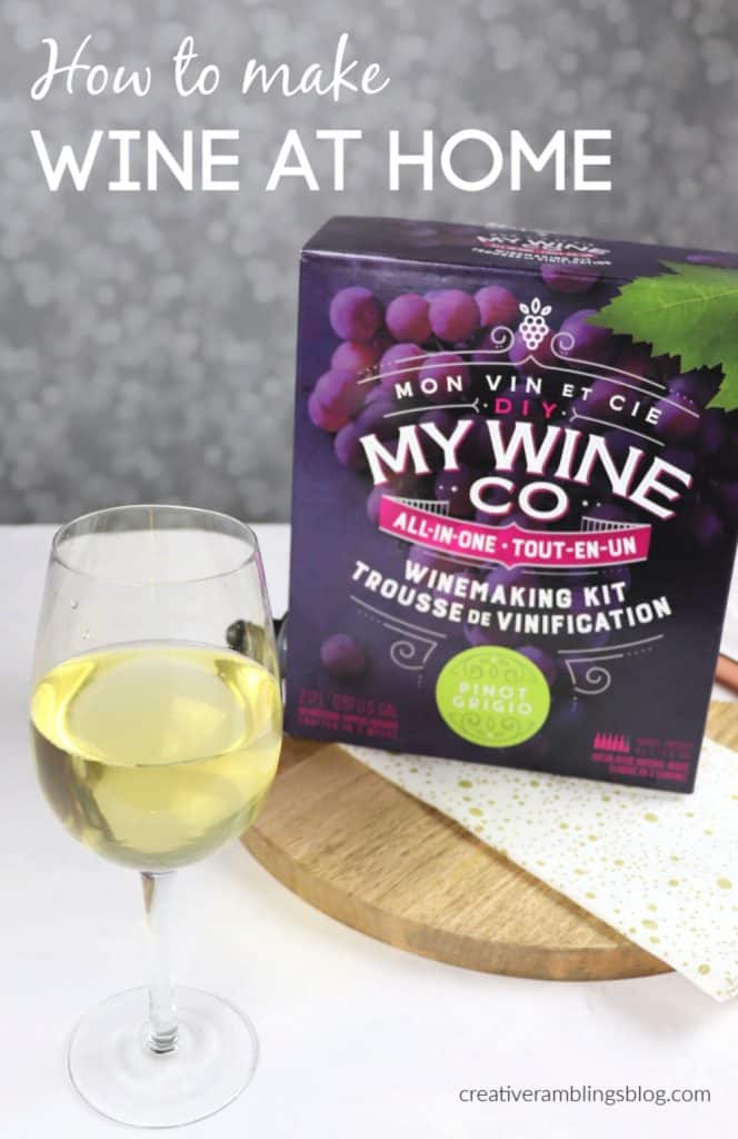 how to make wine at home with DIY My Wine Co
