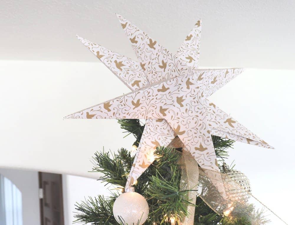 paper star tree topper