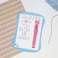 Make a Bubble Valentine with Cricut