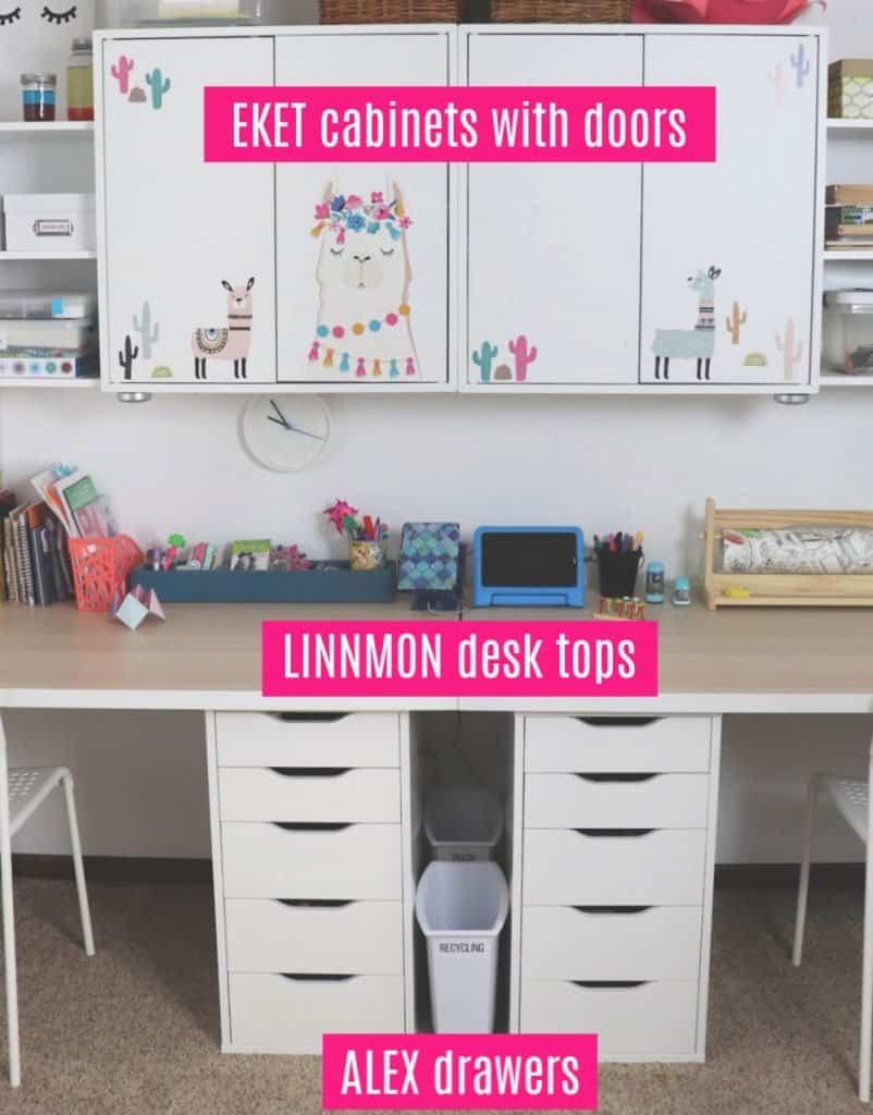 Ikea playroom desk for kids