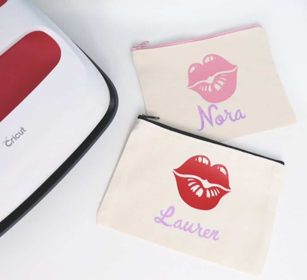 spa party favor bags with Cricut EasyPress 2