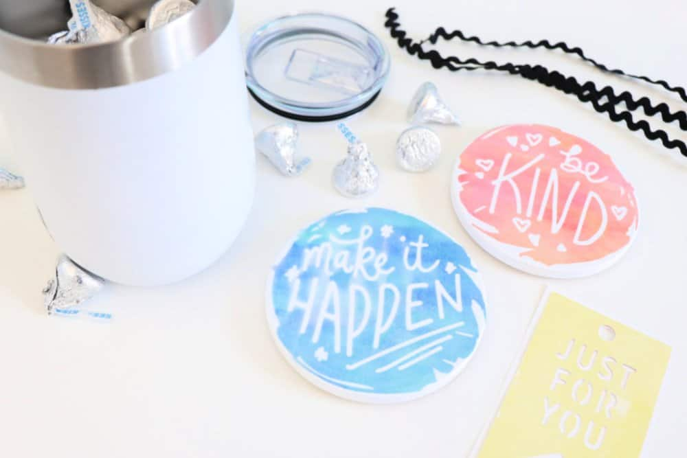 Cricut infusible ink gift supplies