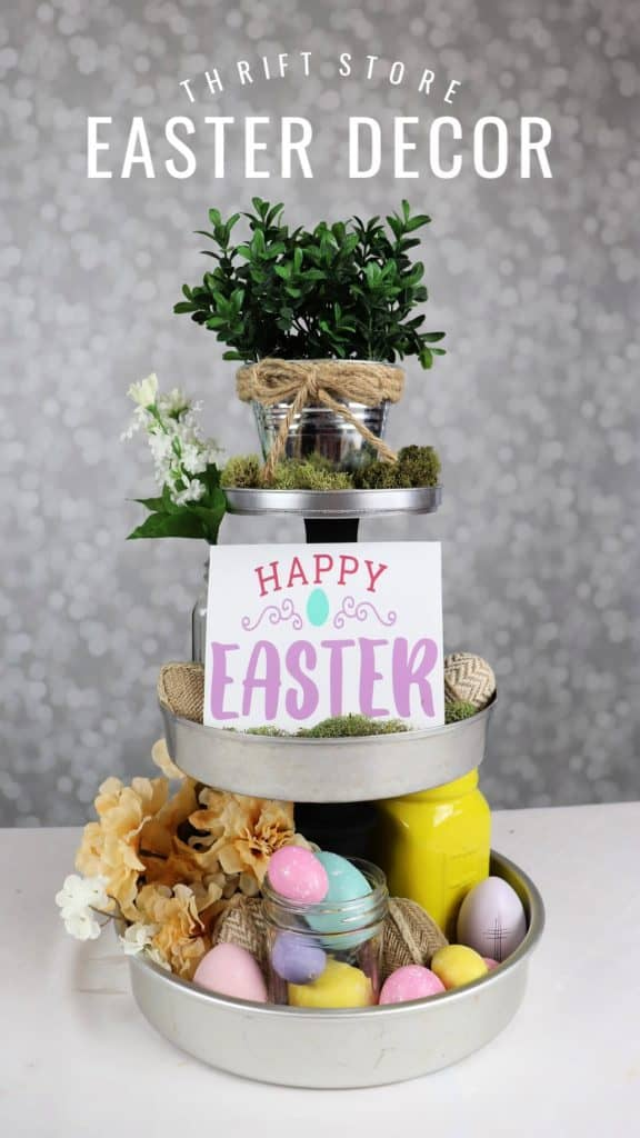 THRIFT STORE Easter decor