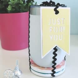 gift idea with coasters and tumbler