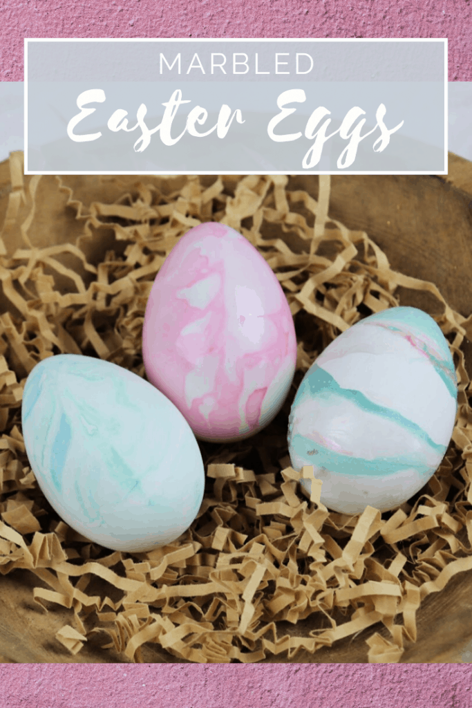 3 ways to marble easter eggs pin 1
