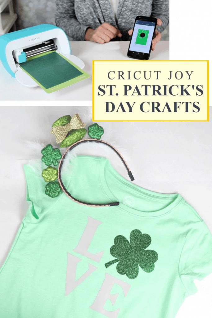 Cricut Joy St Patrick's day crafts pin 3