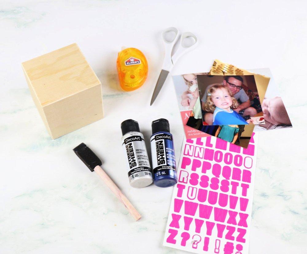 Photo cube supplies