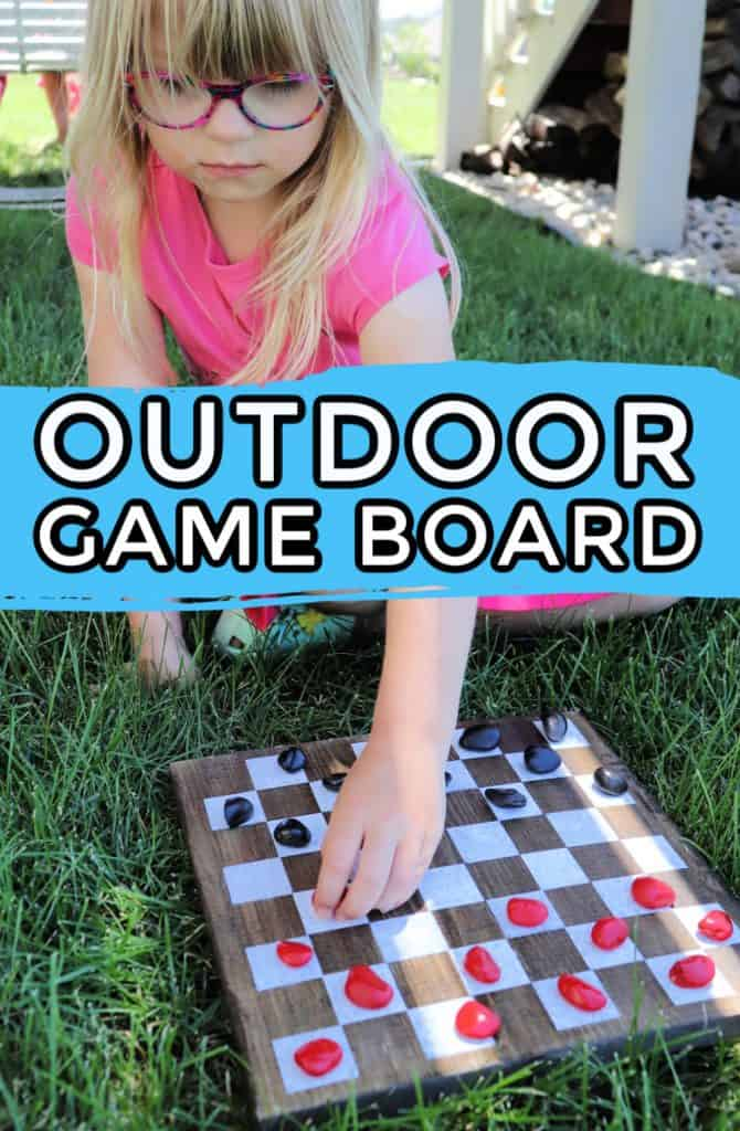 OUTDOOR GAME BOARD PIN 1