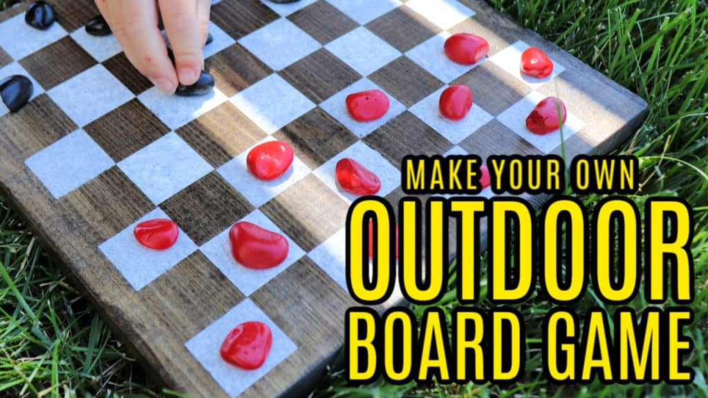 OUTDOOR game board cover