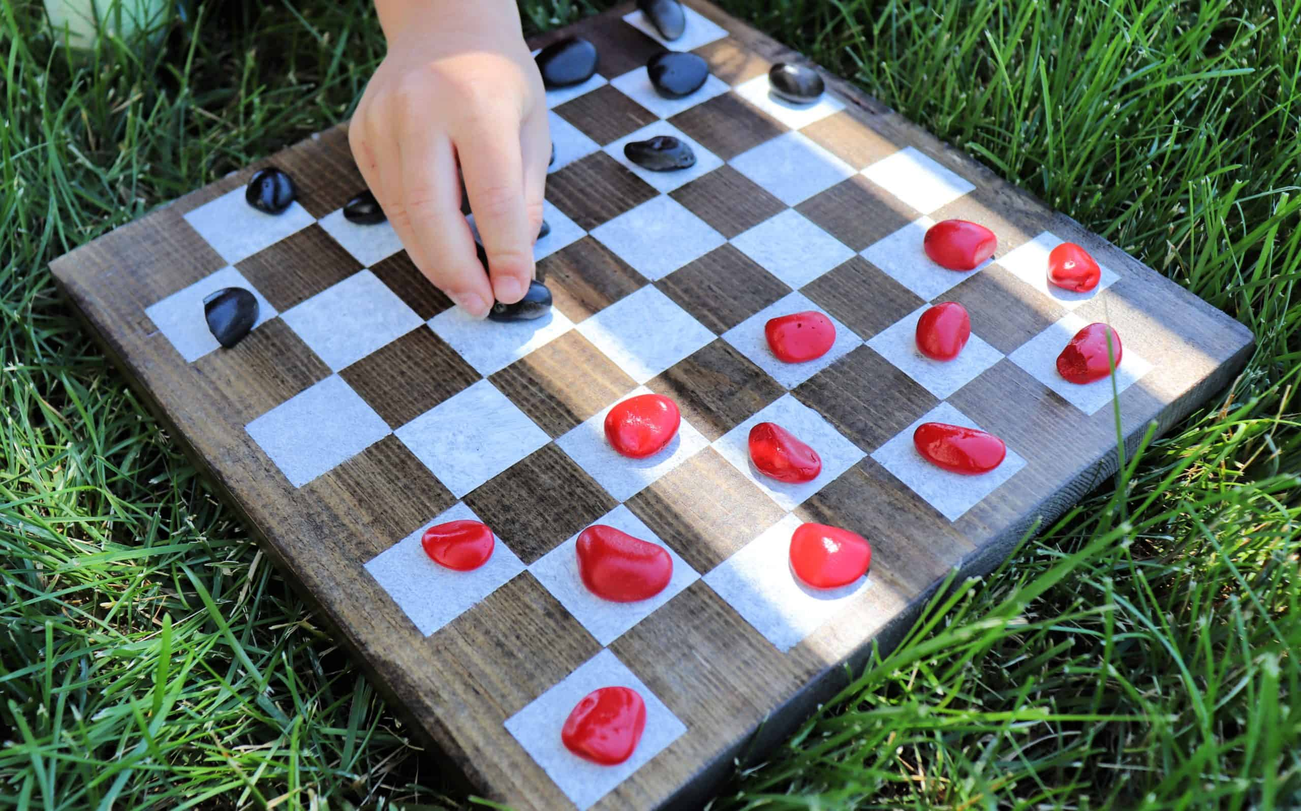 How to Make an Outdoor Game Board