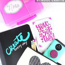 Cricut Joy projects