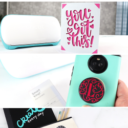 5 little projects with Cricut Joy
