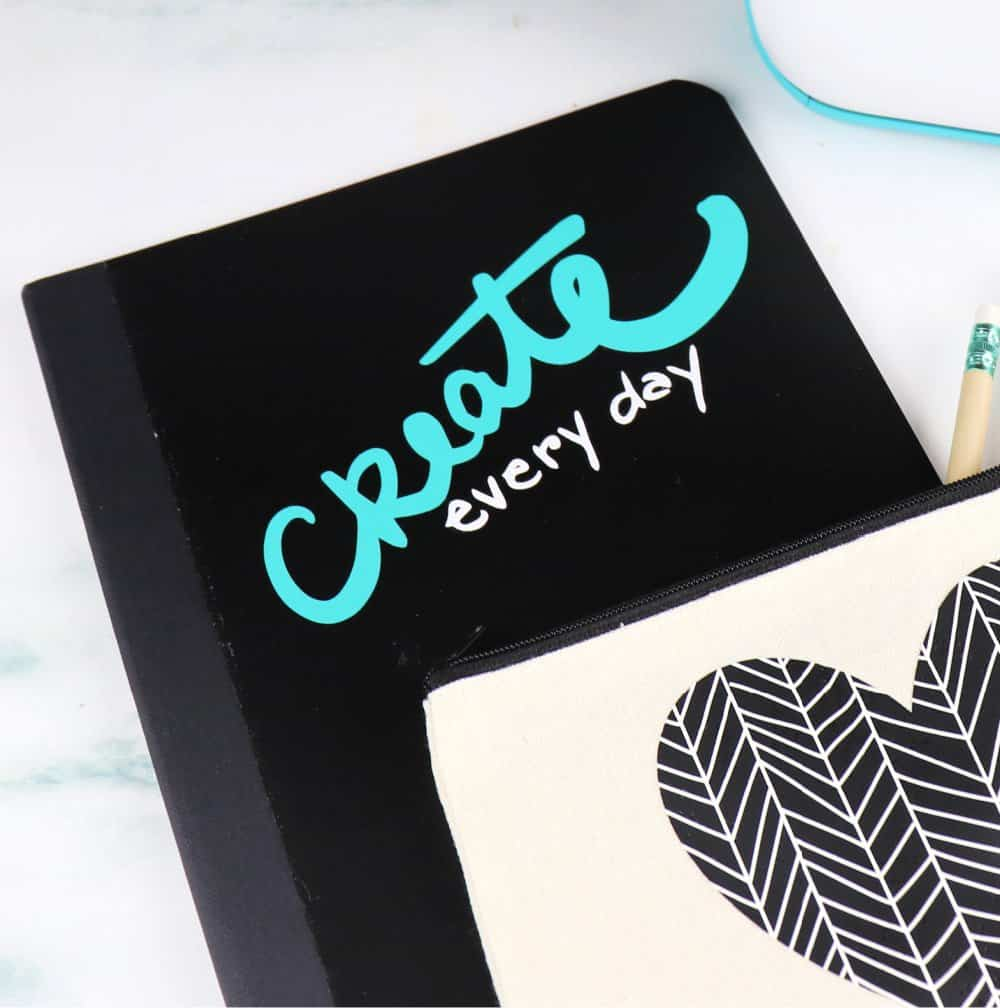 Cricut Joy notebook