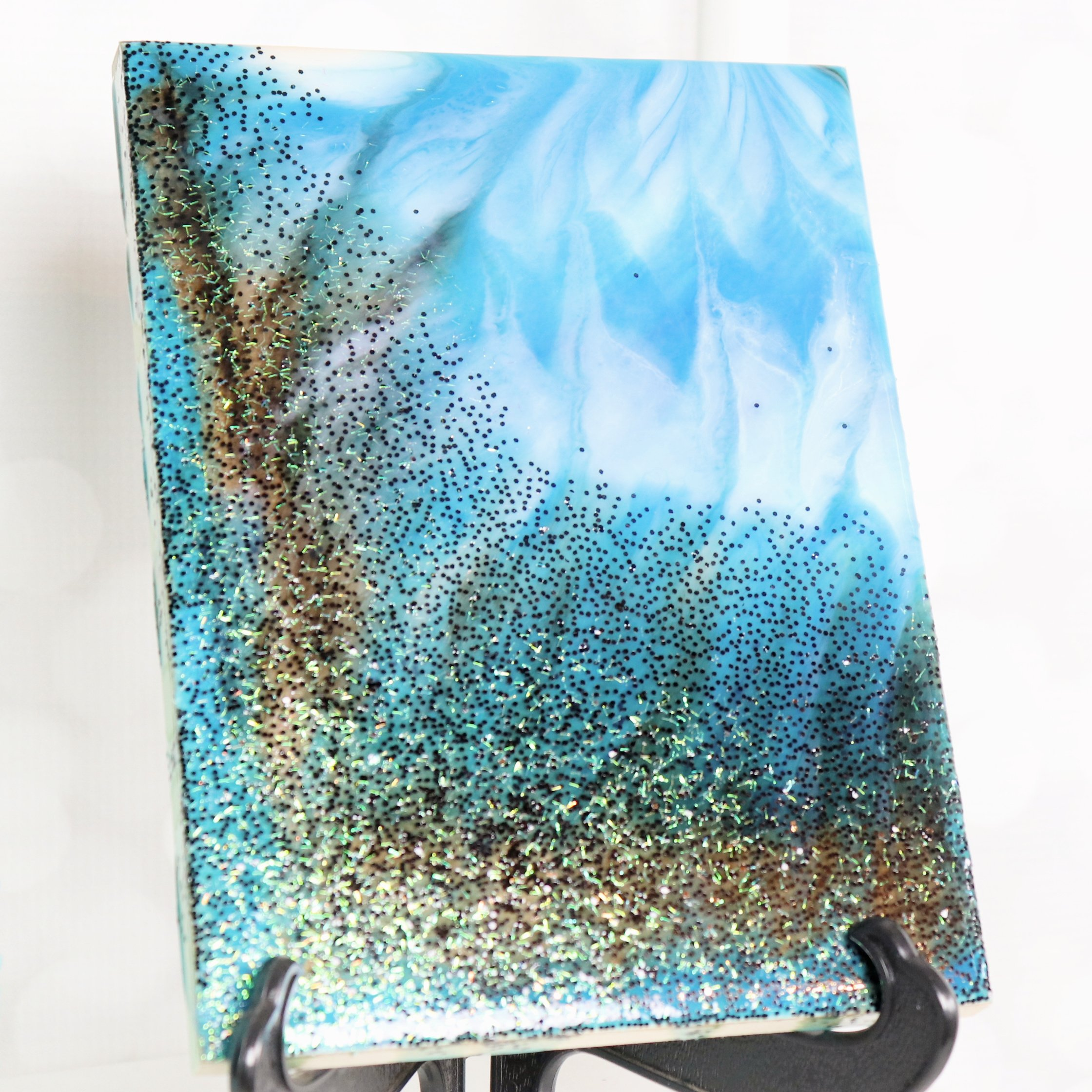 resin pour square