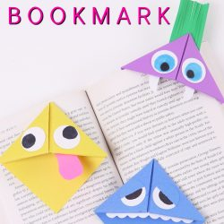 HOW TO FOLD A CORNER BOOKMARK
