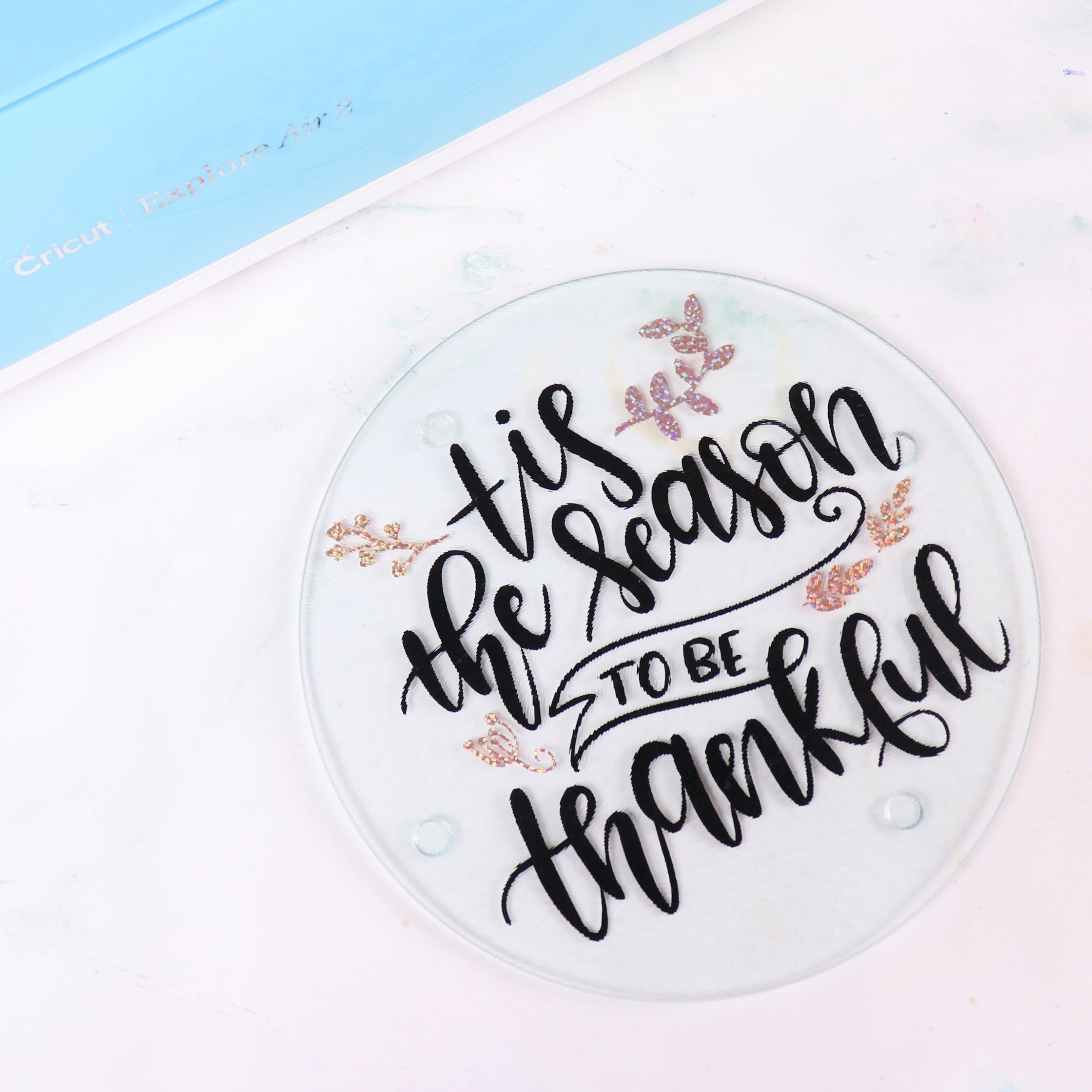 2 Easy Dollar Store Thanksgiving Projects with Cricut
