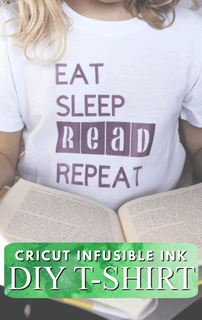 Cricut infusible ink DIY tshirt