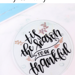 Dollar tree glass cutting board for thanksgiving