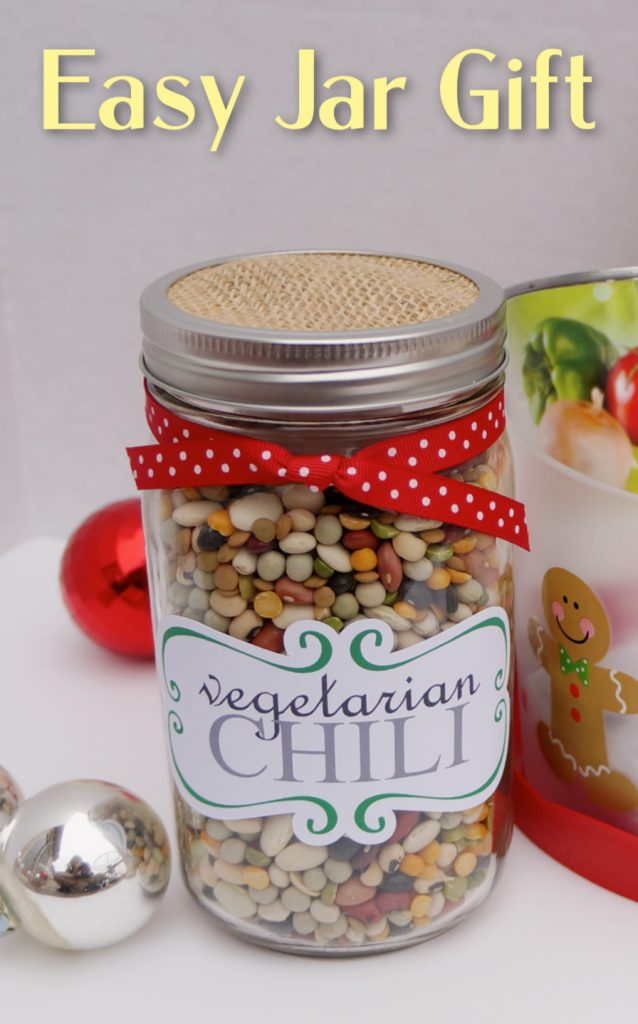 Easy jar gift for Christmas