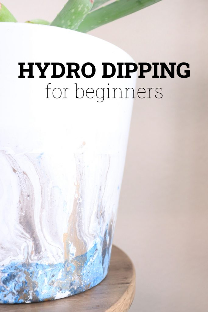 Hydro dipping for beginners