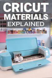 Cricut materials explained 1