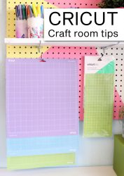 Cricut organize craft room