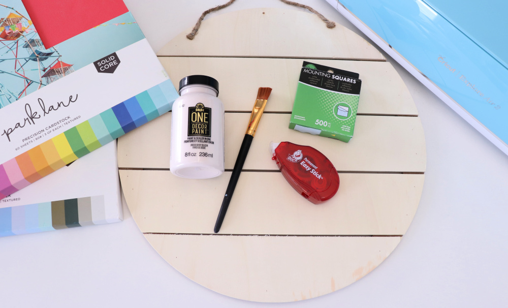 layered paper art supplies