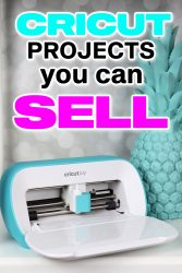 Cricut projects you can sell