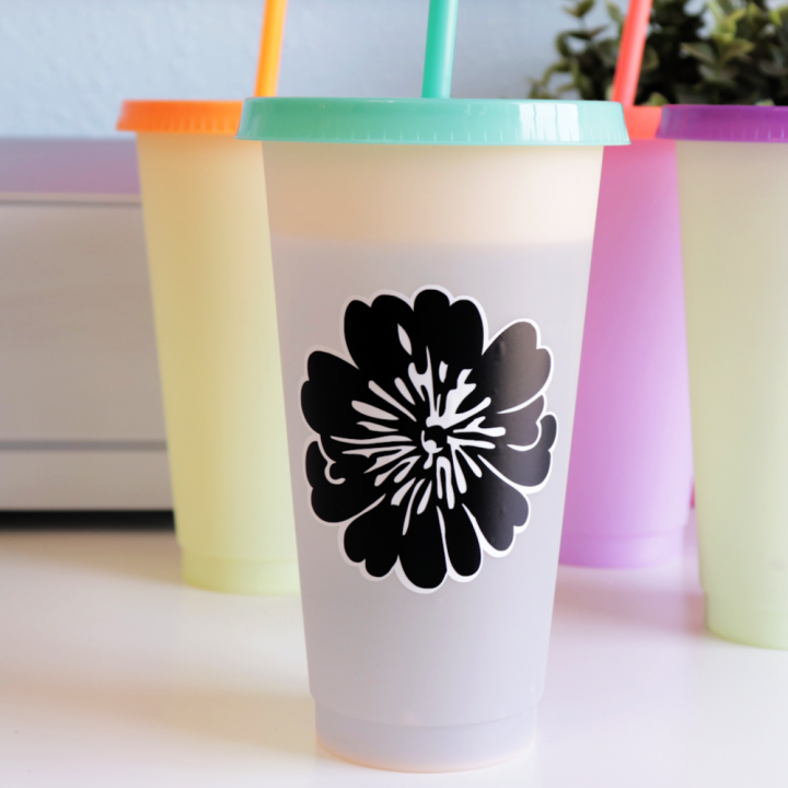 Easy Vinyl Cup Project with the Cricut Maker 3