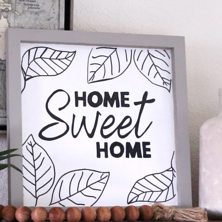 How to Make a Wood Sign Without a Stencil